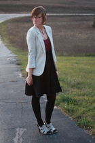 Silence & Noise blazer - kohls shirt - skirt - simply vera wang shoes - Icing ne