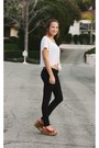 Red-studded-diy-wedges-white-tie-up-lf-stores-top-black-jegging-true-religio