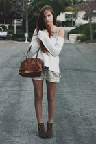 silk button up dress - lace slip intimate - sweatshirt - suede lace up Steve Mad