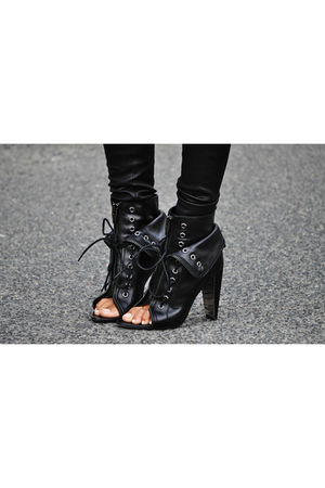 black Alexander Wang shoes