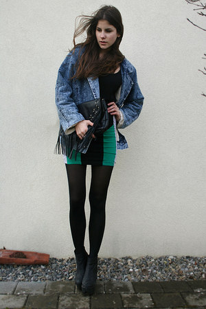 jeans jacket - dress
