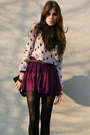 Light-pink-heart-h-m-shirt-black-lita-jeffrey-campbell-boots-black-bag