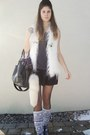 Bag-vest-shirt-skirt