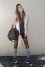 Bag-vest-shirt-skirt