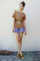 striped Wholesale Dress shorts