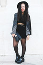 Black-cut-out-boots-lovelyshoes-boots-black-black-skirt-lovelyshoes-skirt