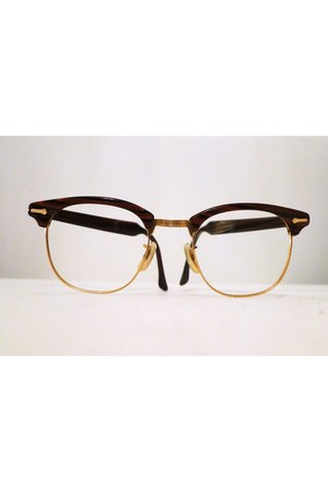 vintage eyewear clubmaster sunglasses - shuron at bibbysrocket glasses