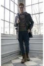 Heather-gray-ohanlon-mills-sweater-gusto-coat-topman-pants