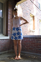 vintage shirt - Old Navy skirt - forever 21 shoes