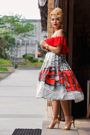 Chicwish dress - Chicwish skirt