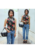 jean paul gaultier bag - Zara heels