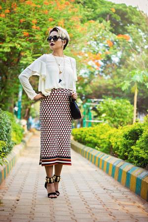 Dorothy Perkins skirt - Dorothy Perkins blouse