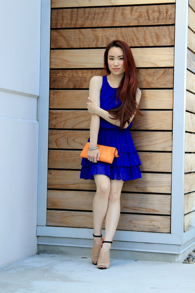 Blue dress heels - Dress womans life