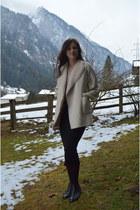 pencil Stradivarius skirt - Deichmann shoes - boho Massimo Dutti blouse