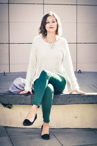 'ANGORA MINT SWEATER'