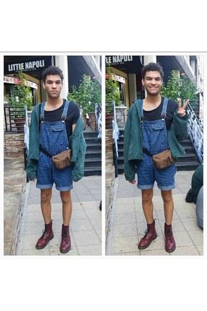 doc martens boots - Ralph Lauren jacket - Urban Outfitters t-shirt