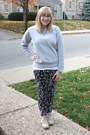 Canvas-zigisoho-boots-patterned-urban-outfitters-jeans-bedazzled-sweatshirt