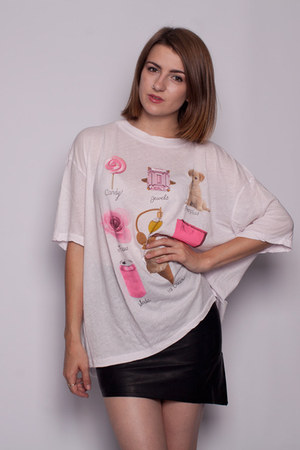white Wildfox shirt