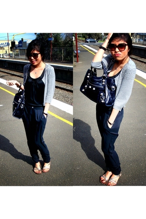 Mango top - Tokito pants - peter alexander jacket - balenciaga accessories - Top