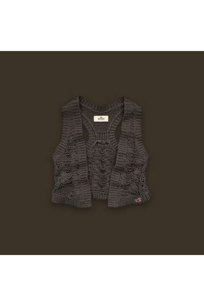 brown hollister sweater