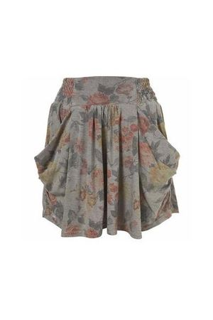 gray Topshop skirt