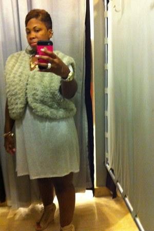 cream Forever 21 vest