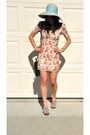 Mini-dress-final-touch-dress-cross-body-vintage-bag-ciao-bella-heels