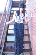 maxi vint skirt