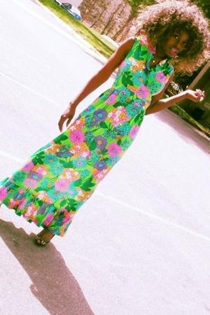 vintage dress - dress - dress - dress - Target shoes
