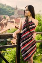 silk MOVING paris dress