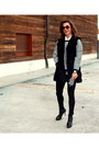 Stuart-weitzman-boots-fur-vest-suncoo-coat-suncoo-sweater-zara-leggings
