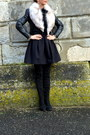 Black-bruno-magli-boots-black-ba-sh-dress-black-leather-h-m-trend-blazer
