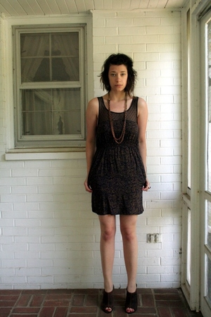 Anthropologie dress - Urban Outfitters necklace - Target shoes