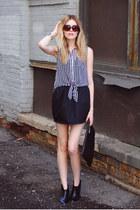 American Apparel skirt - Steve Madden boots - Cheap Monday bag