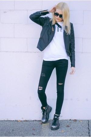 black swan clothing jacket - Zara pants