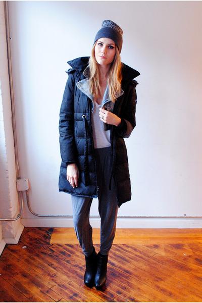 harem H&M pants - Kenneth Cole coat - Michael Kors hat