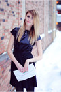 Sic-couture-dress-bcbg-pumps-cross-matte-vanity-gal-necklace
