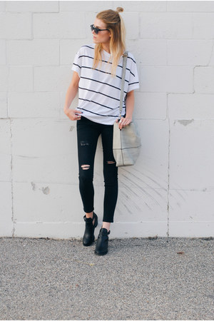 American Eagle boots - Zara pants