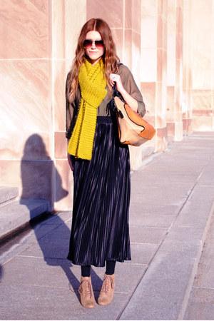 American Apparel skirt - color block asos bag