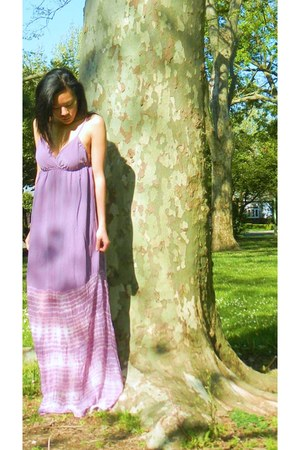 light purple maxi Gypsy 05 dress