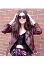 Crimson-leather-jacket-h-m-jacket-black-oversized-karen-walker-sunglasses