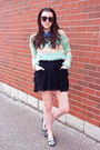 Aquamarine-striped-fur-wasteland-sweater-navy-h-m-shirt