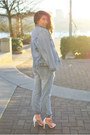 One-teaspoon-jeans-aritzia-jacket-blue-life-top-zara-heels