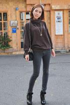 H&M shoes - jeans - t-shirt - bag