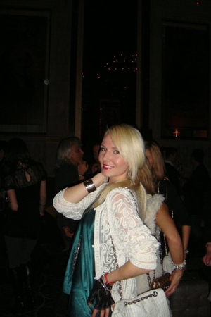 white blondecaviar cardigan - green blondecaviar blouse - white Alexis Hudson pu
