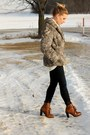 Brown-boots-kelsi-dagger-shoes-gray-fur-coat-navy-jbrand-jeans-ivory-shee