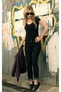 Purple-silence-noise-blazer-black-bdg-t-shirt-makers-of-true-originals-jea