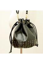 black H&M purse