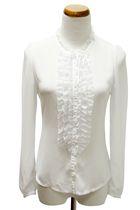 white OPA blouse