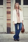 Blue-love-story-jbrand-jeans-white-h-m-blazer-brown-marc-by-marc-jacobs-bag-